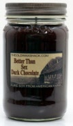 Better Than Sex Dark Chocolate  8 Oz. Soy Candle