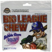 Big League Chew Gum, Assortment Pack, (6 - 2.12 Oz Packages)