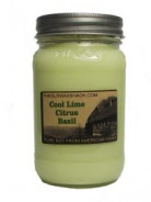 Cool Lime Citrus Basil 16 oz. Soy Candle