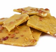 Home Style Peanut Brittle Candy - 2 Lbs