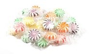 Assorted Wrapped Fruit Starlight Mints